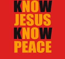 Know Jesus Know Peace Unisex T-Shirt