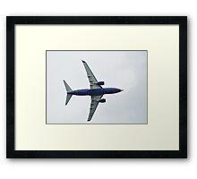 BOEING 737-73S Framed Print