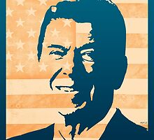 Ronald Reagan by morningdance