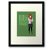 Lily Evans, Head Girl Framed Print