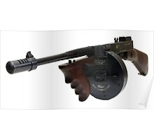 The Thompson Submachine Gun Poster