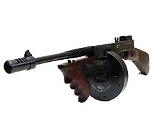 The Thompson Submachine Gun Photographic Print