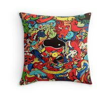 Two Jerrys Throw Pillow