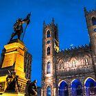 Notre-Dame Basilica 1 by Michael Vesia