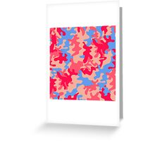 Camouflage 002 Greeting Card