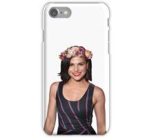 Lana Parrilla Flower iPhone Case/Skin