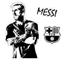 Lionel Messi - Barcelona Photographic Print