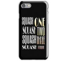 Squash One Murder Song iPhone Case/Skin