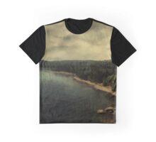 Twilight Lake Graphic T-Shirt