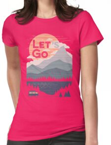 Let's Go Womens Fitted T-Shirt