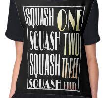 Squash One Murder Song Chiffon Top