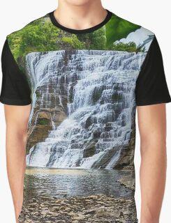Ithaca Falls Graphic T-Shirt