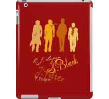 Four Marauding Marauders iPad Case/Skin