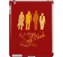 Four Marauding Marauders iPad Case/Skin