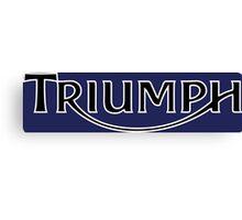 Triumph Canvas Print