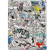 Fun Kamasutra Bodies Figures Doodle in Color iPad Case/Skin