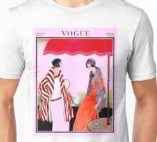 Vogue Vintage 1922 Magazine Print Unisex T-Shirt
