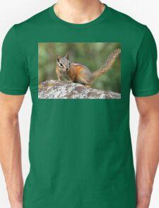 Chipmunk on Display Unisex T-Shirt