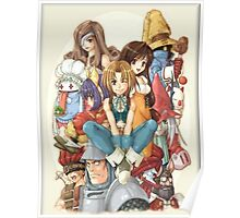 Heroes FF9 Poster
