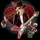 Tom Petty Portrait by Sydney Eller
