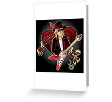 Tom Petty Portrait Greeting Card