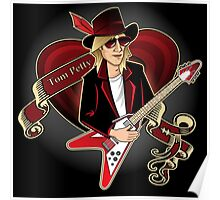 Tom Petty Portrait Poster