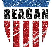 Reagan Patriot Shield by morningdance