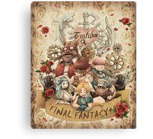 Nine Party Fantasy Canvas Print