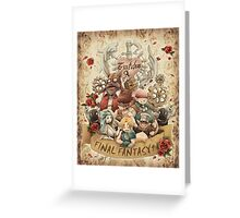Nine Party Fantasy Greeting Card
