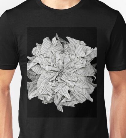 book flower  Unisex T-Shirt