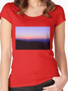 Tuscan Sunset I Women's Fitted Scoop T-Shirt