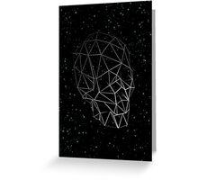 Skull Constellation Greeting Card