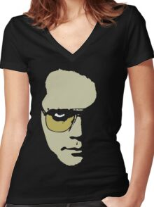 Author. Dreamweaver. Visionary. Plus Actor.  Women's Fitted V-Neck T-Shirt