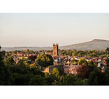 Ludlow Basking In the Sunshine Photographic Print