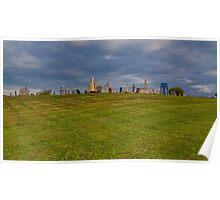 Hilltop Graveyard Poster