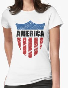 America Womens Fitted T-Shirt
