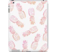 Pink Pineapples  iPad Case/Skin