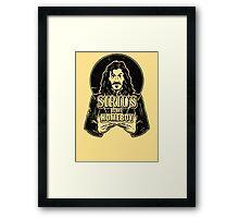 Sirius is my homeboy Framed Print