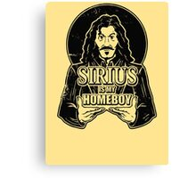 Sirius is my homeboy Canvas Print