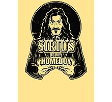 Sirius is my homeboy Photographic Print