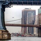East River Cityscape by Bill Wetmore