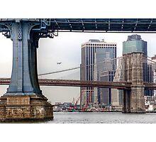 East River Cityscape Photographic Print