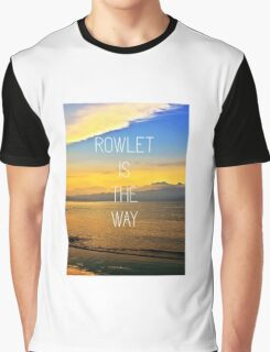 Rowlet is the way Graphic T-Shirt