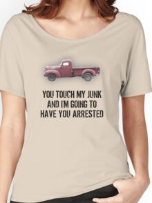 Hands Off Women's Relaxed Fit T-Shirt