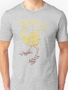 Chocobo Typography T-Shirt