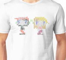 Quotes and Braces Unisex T-Shirt