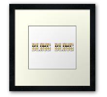 BlingBling Framed Print