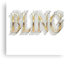 Bling Canvas Print
