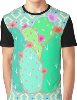Pear Cactus Graphic T-Shirt
