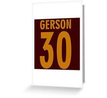 gerson 30 Greeting Card